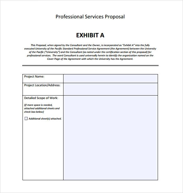 13+ Service Proposal Samples Sample Templates - services proposal template word