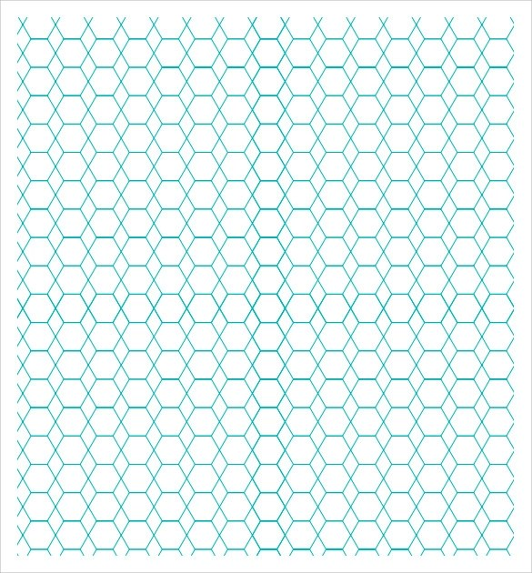 Hexagonal Graph Paper Template | kicksneakers.co