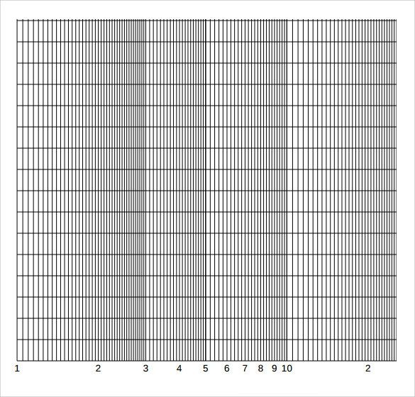 printable log graph paper