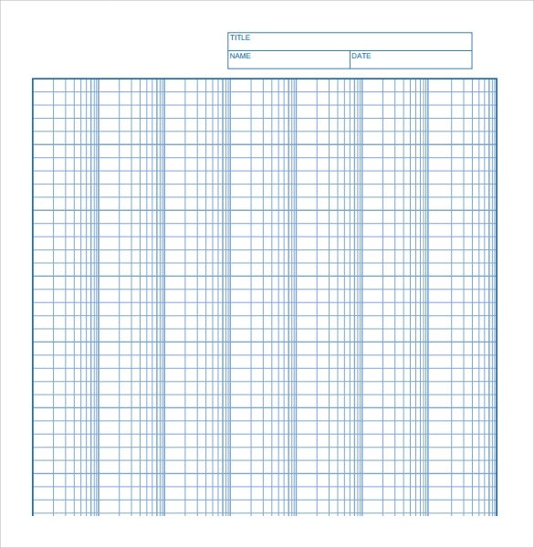 7+ Sample Log Graph Papers Sample Templates - graph sheet download