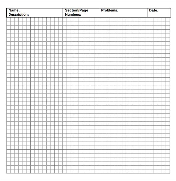 9 Incompetech Graph Paper Templates to Download for Free Sample - graph paper sample