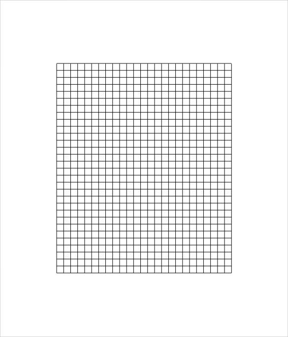 printable graph paper metric