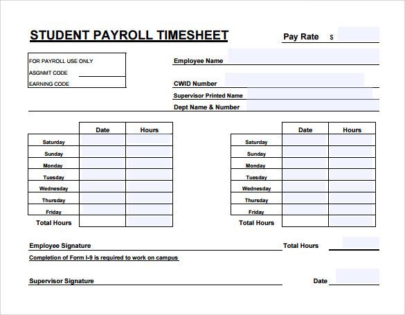payroll timesheet calculator - Militarybralicious - sample biweekly timesheet