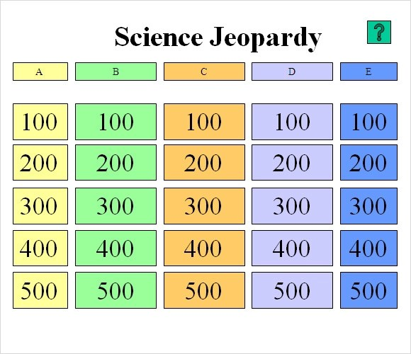 Sample Classroom Jeopardy Template - 7+ Free Documents in PDF, PPT - sample jeopardy powerpoint