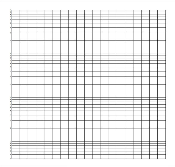 Sample Semilog Graph Paper - 5+ Documents In PDF, Word - making graph paper in word