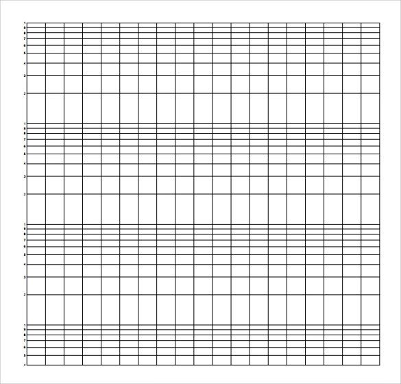 how to use log graph paper
