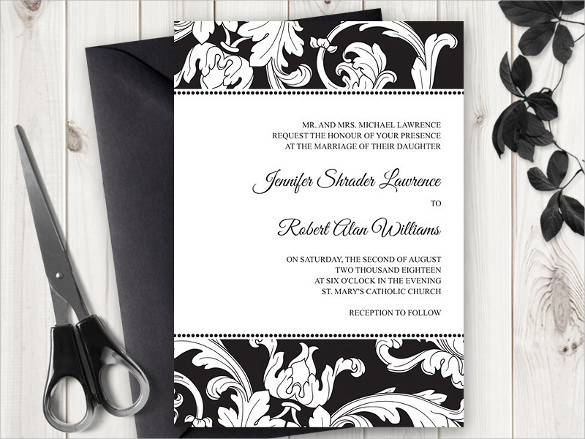 19 Formal Invitation Templates to Download Sample Templates - formal invitations template