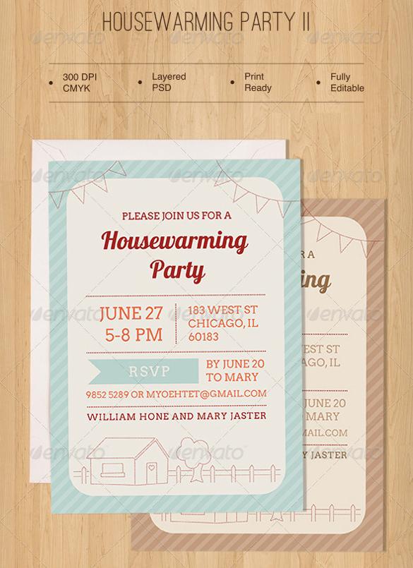 housewarming invitation sample