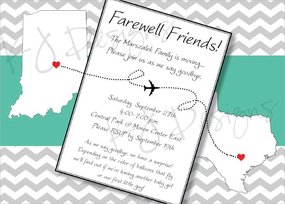 Goodbye Card Template Images - Template Design Ideas - printable goodbye cards