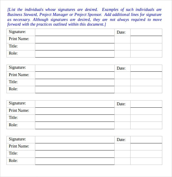 8 Risk Management Plan Templates to Free Download Sample Templates