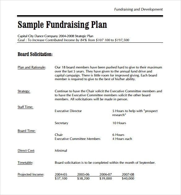 sle fundraising proposal template - 28 images - sle fundraising - fundraising proposal template