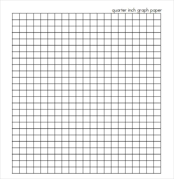 graph paper printable 1 inch