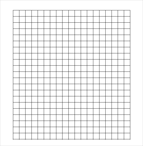 7+ Sample Half Inch Graph Papers Sample Templates - half inch graph paper template