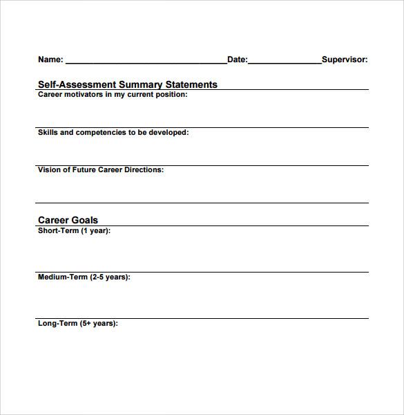 Sample Career Plan - 9+ Documents In PDF, Word