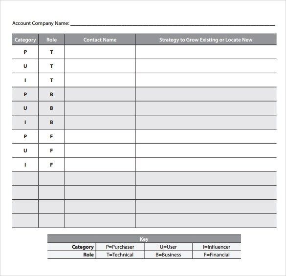 Account Plan Template Business Action Plan Template Download - action plan sample template