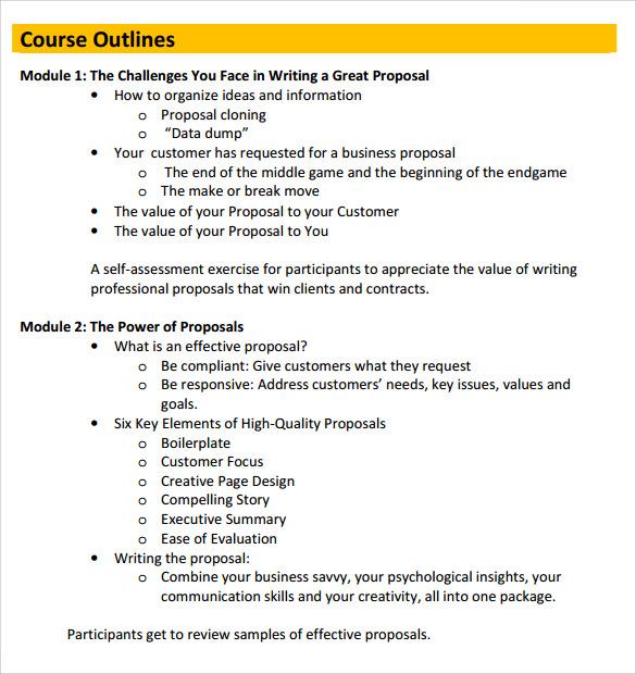 Sample Business Proposal Letter Deiric Mccann Sample Work Proposal 5 Documents In Pdf Word