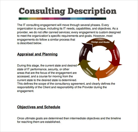 Sample Consultant Proposal Template - 8+ Free Documents Download in