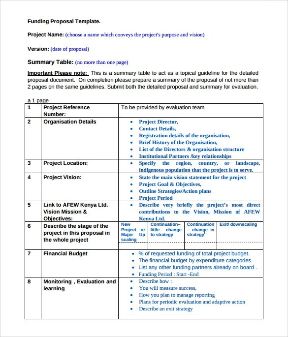 sle funding proposal - 28 images - nih grant cover letter sle nih - business funding proposal template