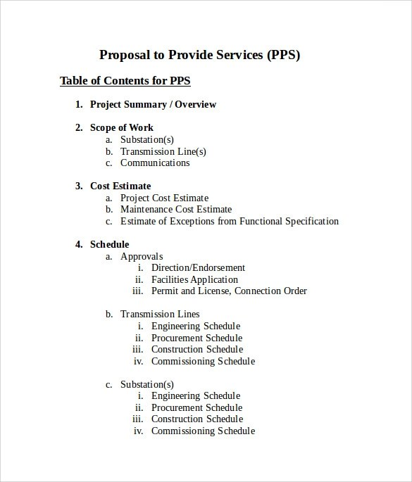 16+ Service Proposal Samples Sample Templates - services proposal template word