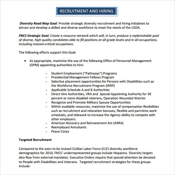 Strategic Recruiting Plan Template  Breach Of Contract Legal Letter