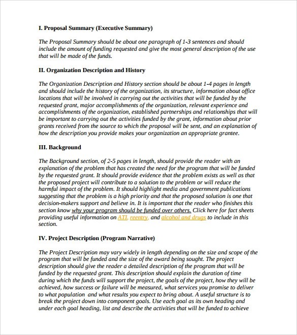 Sample Formal Proposal - 5+ Documents In PDF, Word - formal proposal example