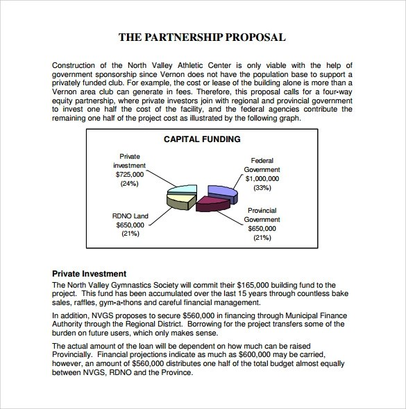 Exclusive Partnership Agreement Template   Free Non