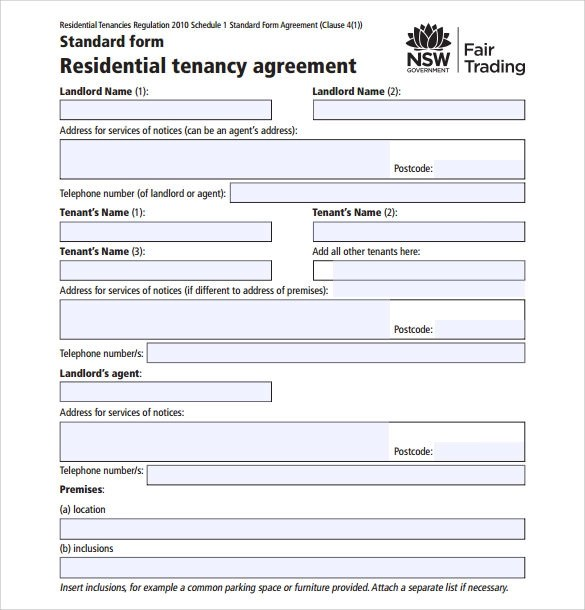 Ga Residential Lease Agreement Template Acceptance Letter For Work