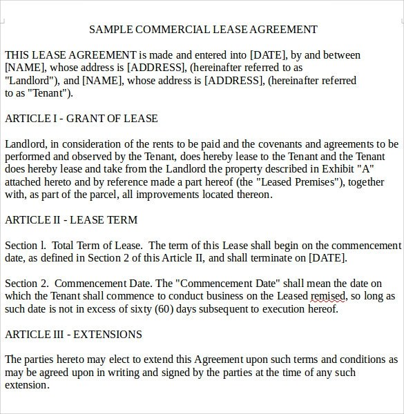Define Rental Agreement Image Titled Write A Vacation - sample commercial lease agreement