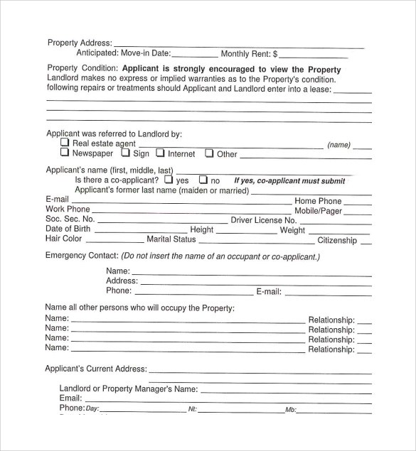 Sample Texas Residential Lease Agreement - 12+ Free Documents in - sample house lease agreement