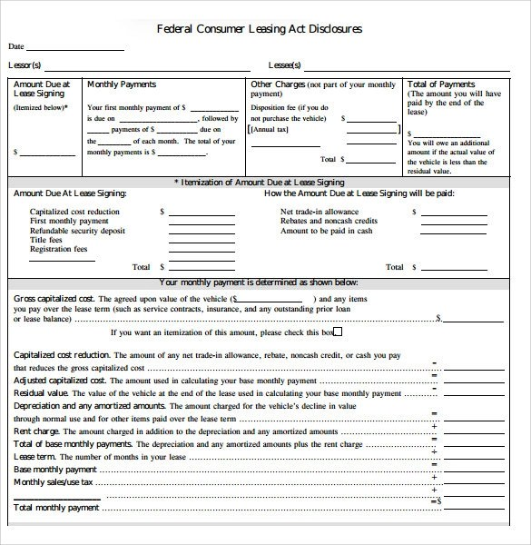 Rental Agreement Template Car  Create Professional Resumes Online