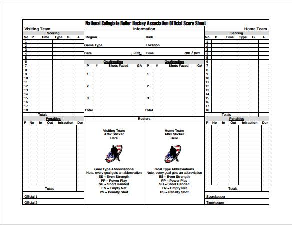 Hockey Score Sheet hockey score sheet nick schmaltz und hockey