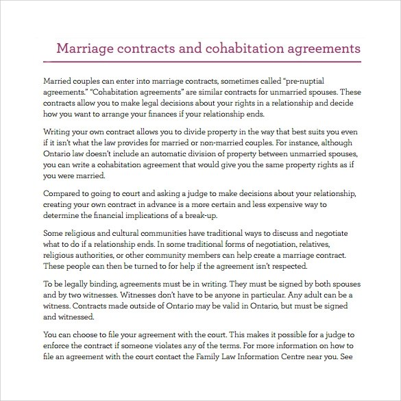 Doc Partner Contract Sample  Partnership Agreement Template