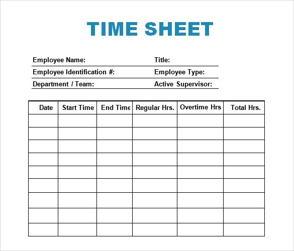 time log template word - Onwebioinnovate
