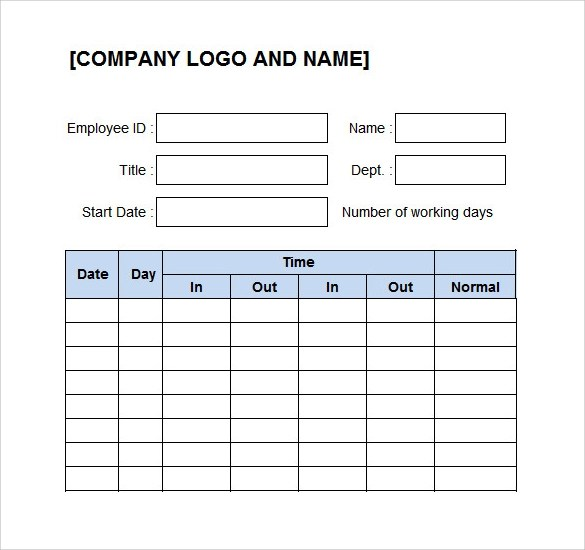 28+ Log Templates Sample Templates - time log template