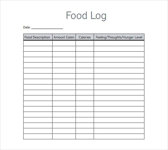 28+ Log Templates Sample Templates