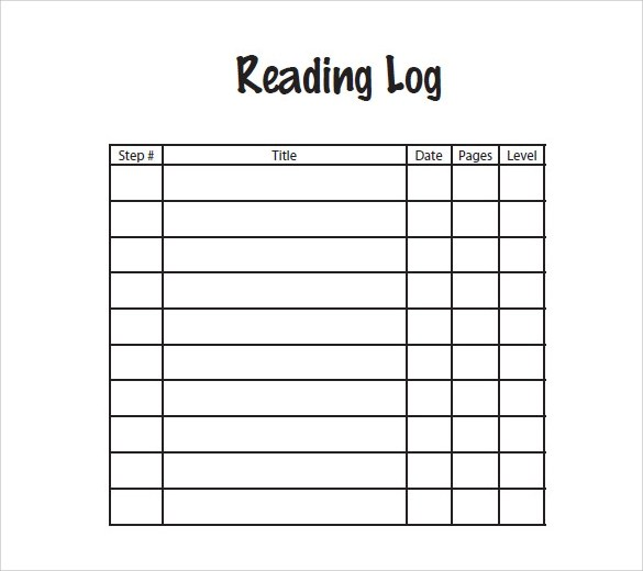 Sample Log Template - Documents in PDF , Word , Excel - log template sample