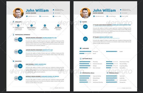 16+ Designer Resume Template \u2013 Samples, Examples  Format Sample