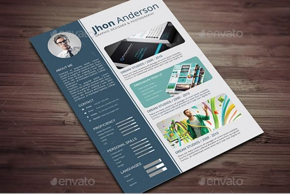 photography resume template download