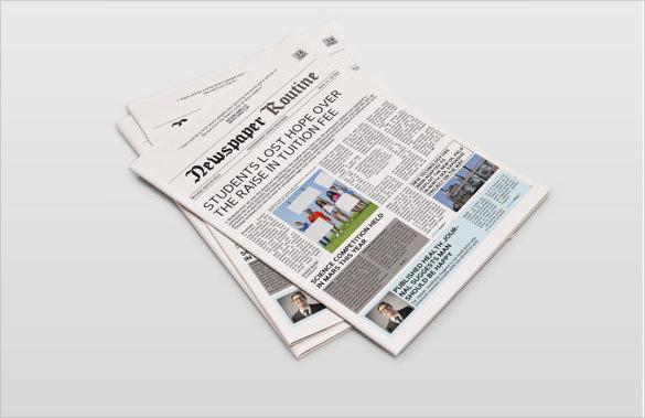 8+ Sample Newspaper Layouts - In Design, PDF