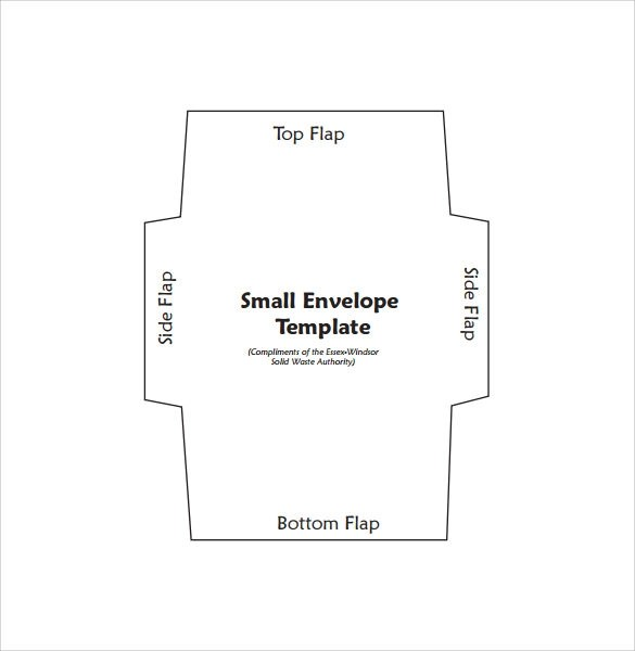 small envelope template - Selol-ink - Sample 5x7 Envelope Template