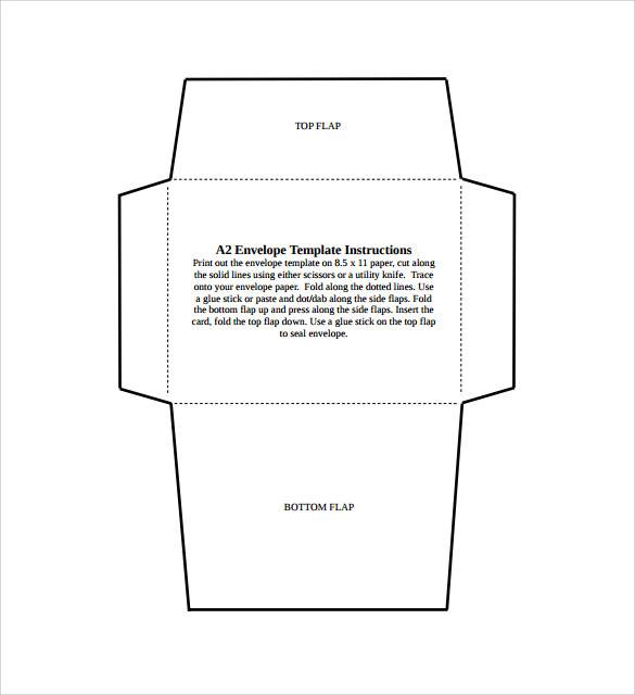 size a2 envelope