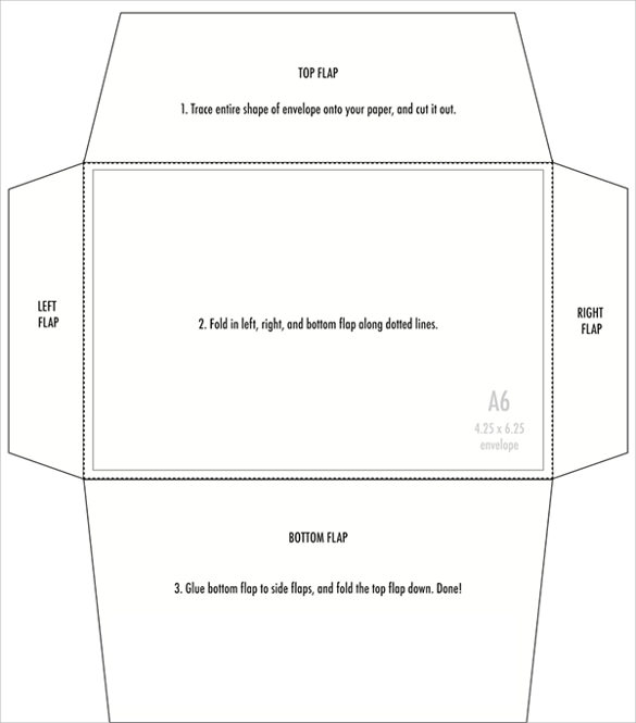 4 x 6 envelope template - Onwebioinnovate