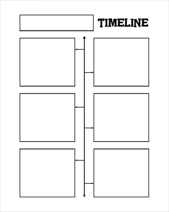 7 Blank Timeline Templates \u2013 Samples ,Examples  Formats Sample - timeline template
