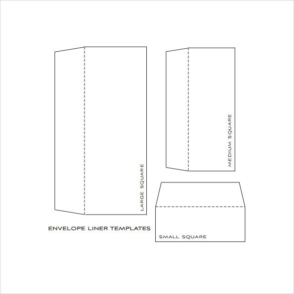 Envelope Liner Template - 8+ Free Samples ,Examples  Formats