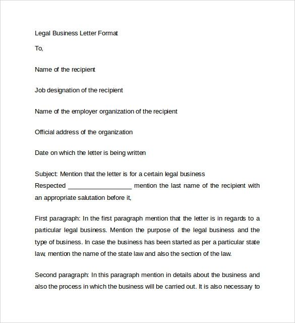 buisness letter templates
