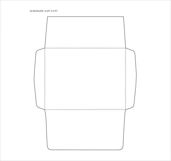 7+ Sample A2 Envelopes Sample Templates - sample a2 envelope template