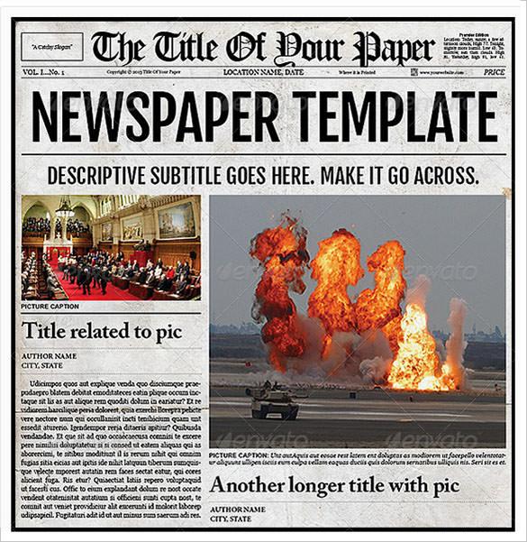 newspaper template website