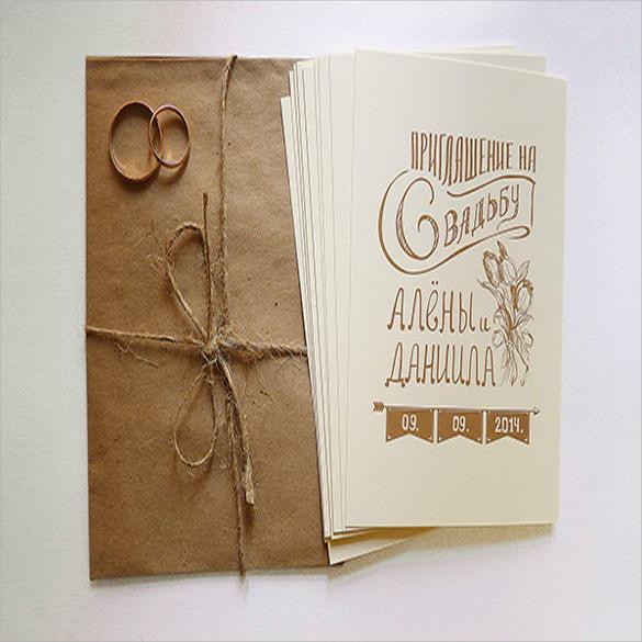 Wedding Card Envelope Template - 10+ Samples , Examples \ Formats - sample 5x7 envelope template