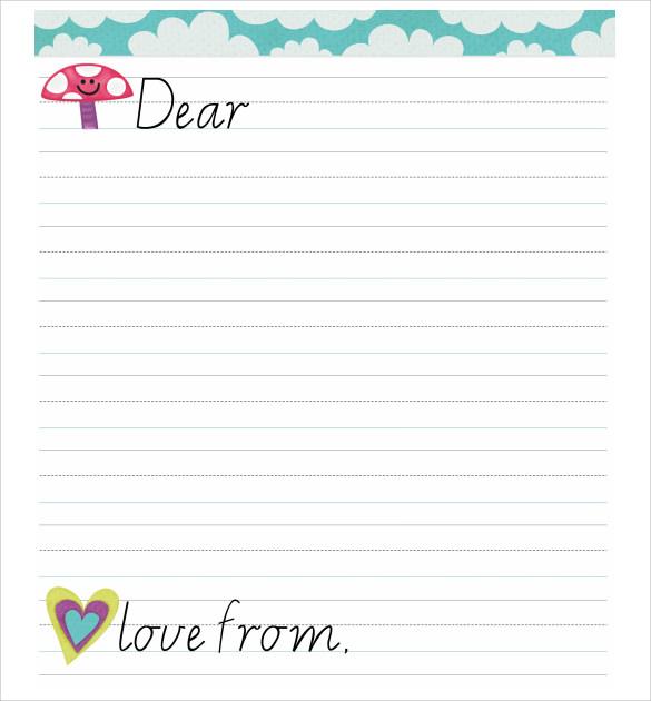8+ Letter Format for Kids - Samples, Examples  Format