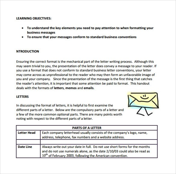 Business letter writing format Homework Writing Service
